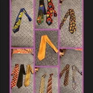 A dozen ties one low price.